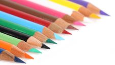 Free Colored Pencils Stock Images - 6836294