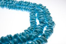 Free Turquoise Beads Royalty Free Stock Photo - 6837735