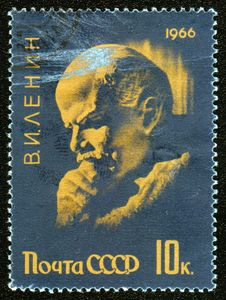 Free Vintage Postage Stamp From Russia With Lenin Royalty Free Stock Photography - 6838717