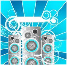 Free Speaker Background Stock Images - 6838894