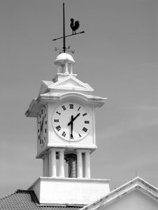 Free Clock Tower Royalty Free Stock Photos - 6838908