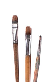Free Paintbrushes Stock Image - 6838981