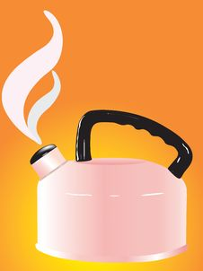 Free Pink Kettle Stock Photos - 6839303