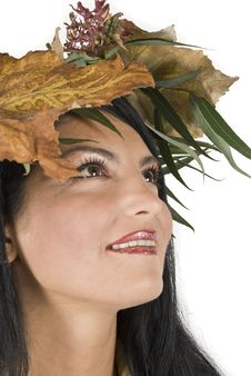 Free Autumn Beautiful Girl Royalty Free Stock Photography - 6839397
