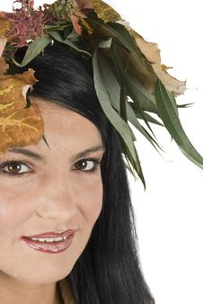 Free Closeup Of Autumn Face Female Royalty Free Stock Images - 6839399