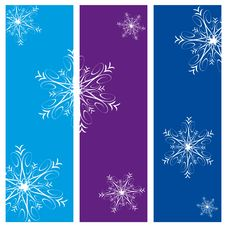 Free Christmas Vertical Banners Royalty Free Stock Image - 6839466