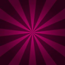 Abstract Starburst Red Background. Radial Lines. Vector Cool Bac Royalty Free Stock Photography