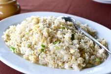 Free Fried Rice. Royalty Free Stock Photography - 68328137