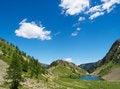 Free Alpine Lake Royalty Free Stock Photography - 6841607