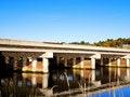 Free Bridge Over River Royalty Free Stock Photo - 6845035