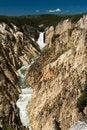 Free Yellowstone Waterfall Royalty Free Stock Image - 6845566