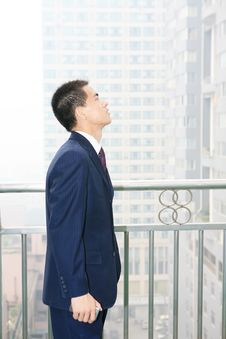 Free Man Standing In Office Building Stock Photos - 6840673