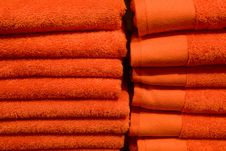Free Stack Of Towels Stock Photo - 6841120