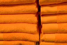 Free Stack Of Towels Stock Photos - 6841133