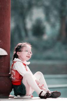 Autumn Girl Royalty Free Stock Image