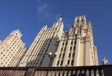 Free Stalin Skyscraper Royalty Free Stock Photos - 6841718