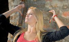 Free Beautiful Blondy Woman Royalty Free Stock Photos - 6841778