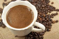 Free Cup Of Coffee Stock Images - 6841844