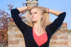 Free Beautiful Blondy Woman Stock Photos - 6841873
