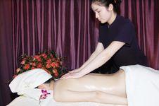 Free Massage In Beauty Salon Stock Image - 6842281