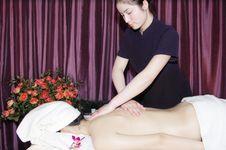 Massage In Beauty Salon Royalty Free Stock Photo