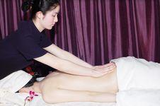 Free Massage In Beauty Salon Stock Photo - 6842490