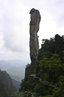 Sanqing Mountains Royalty Free Stock Image