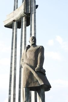 Free Lenin Monument Royalty Free Stock Photography - 6843747
