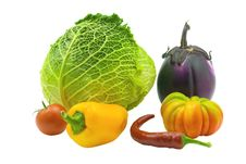 Free Bright Vegetables Stock Images - 6844154