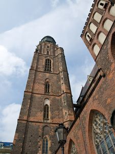Free Church Tower Stock Images - 6844414