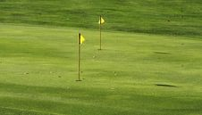 Free Golf Course Royalty Free Stock Photography - 6845077