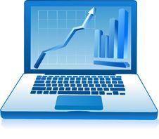Free FinancialLaptop Stock Photos - 6845143