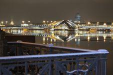 Free Drawing Of A Bridge. Royalty Free Stock Photo - 6845425