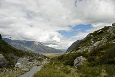 Free New Zealand Landscape Royalty Free Stock Photography - 6845507