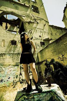 Free Rebel Young Girl Stock Photos - 6845753
