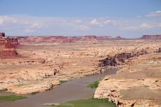 Free Hite View Over The Colorado River Stock Images - 6845814