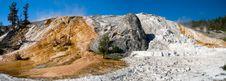 Free Mammoth Hot Spring Yellowstone Royalty Free Stock Photos - 6845888