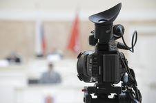 Free TV Camera. Stock Photo - 6845990