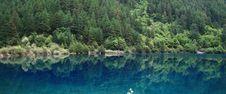 Lake In Jiuzhaigou Royalty Free Stock Images
