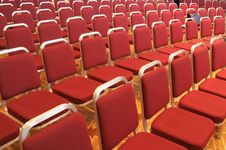 Free Rows Of Seats. Stock Image - 6846161