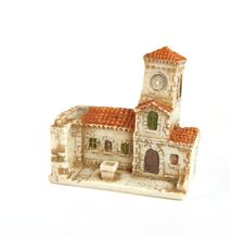 Free Small Ceramic Church Stock Photo - 6846480