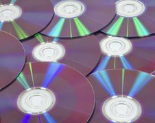 Background From DVD Disks Stock Images