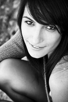 Free Smiling Woman Portrait Stock Photos - 6846753