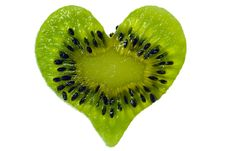 Free Kiwi Heart Royalty Free Stock Photos - 6846788
