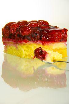 Rasberry Cake Stock Images