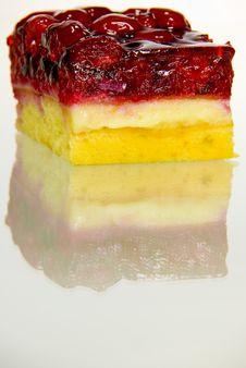 Rasberry Cake Royalty Free Stock Photos