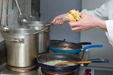 Free Pasta Preparation Stock Image - 6847251