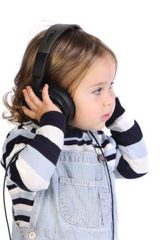 Free Girl Listening Music Royalty Free Stock Photo - 6847255