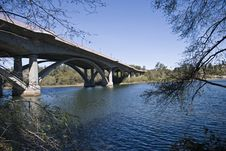 Free Bridge Over River Stock Images - 6847944