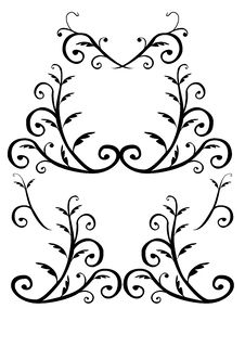 Free Style Vector Ornaments Stock Photography - 6848102
